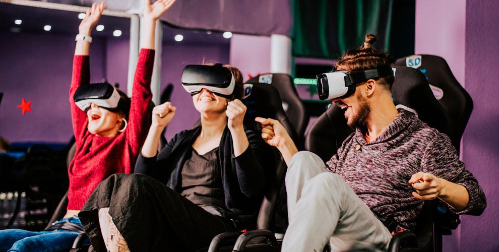 VR-кинотеатр Impulse: билеты наинтерактивный фильм вформате виртуальной реальности