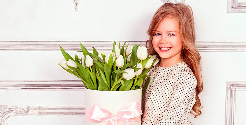 Цветы, букеты из роз, хризантем и тюльпанов от студии LaBuke