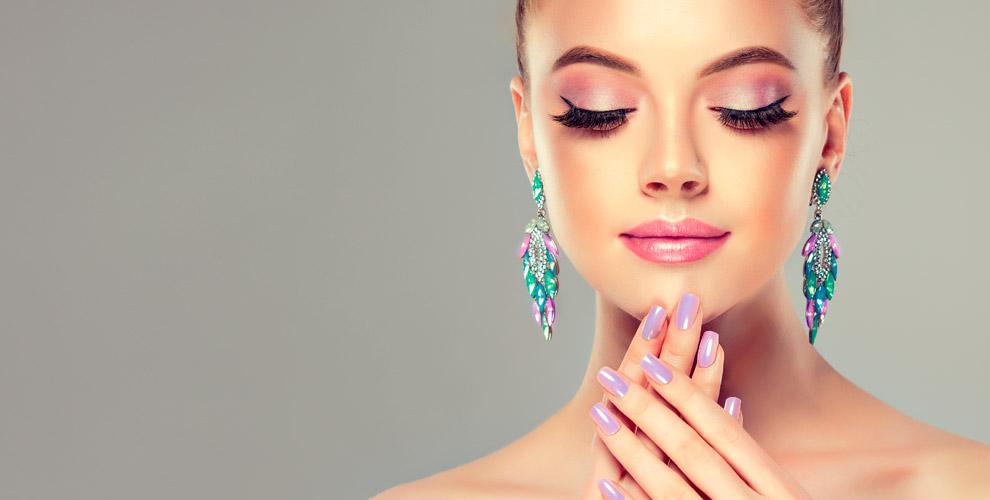 Маникюр, педикюр иокрашивание бровей вкабинете красоты «Вгостях уНатальи»