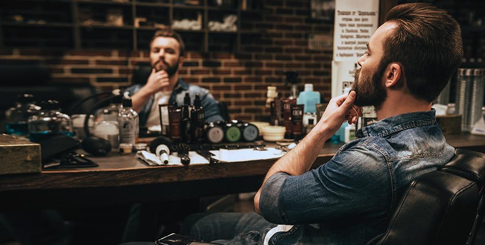 Стрижки, моделирование бороды, «Королевское бритье» в Barbershop Byron