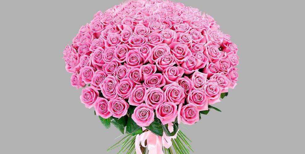 """Букеты из роз, амариллисы, лилии, тюльпаны и другие цветы от сети салонов """"Лаванда"""""""