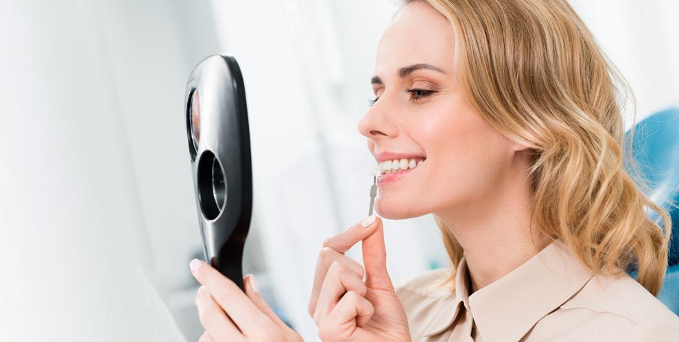 Косметическое отбеливание зубов вкомпании Mybrilliant smile