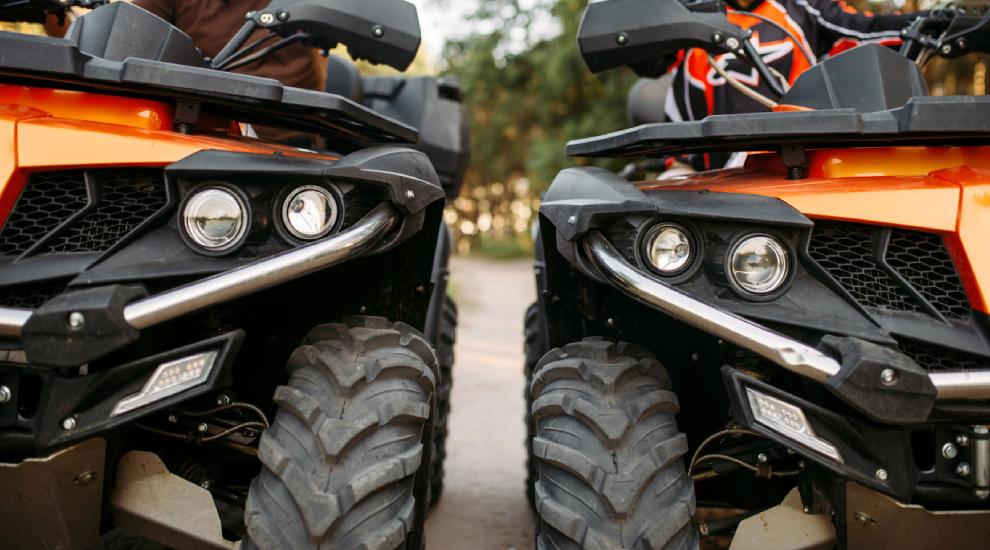 Катание наквадроцикле откомпании CRAZY VIKINGS