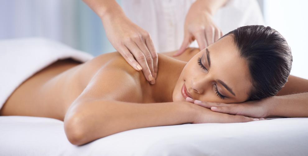 Различные виды массажа в сети салонов Rezultat