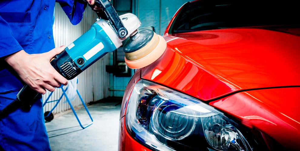 Автосервис «КузовРемонт74»: полировка фарикузова, покраска элементов автомобиля