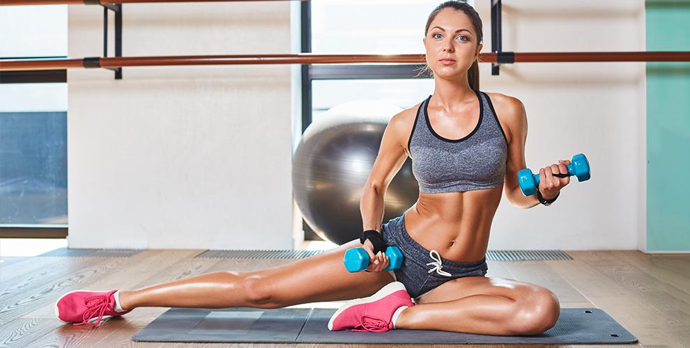 Занятия фитнесом и йогой, а также абонементы в тренажерный зал Sportime