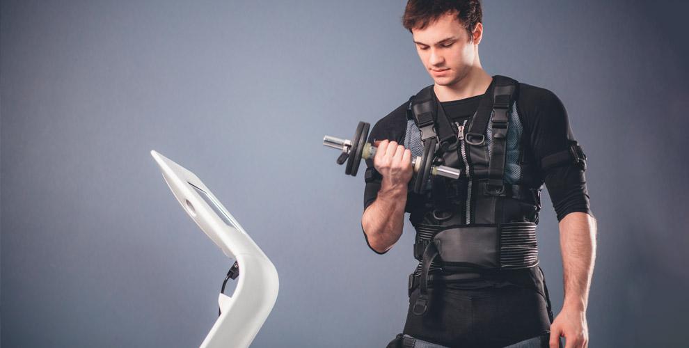 Занятия на EMS-тренажере в студии BodyLab Fitness