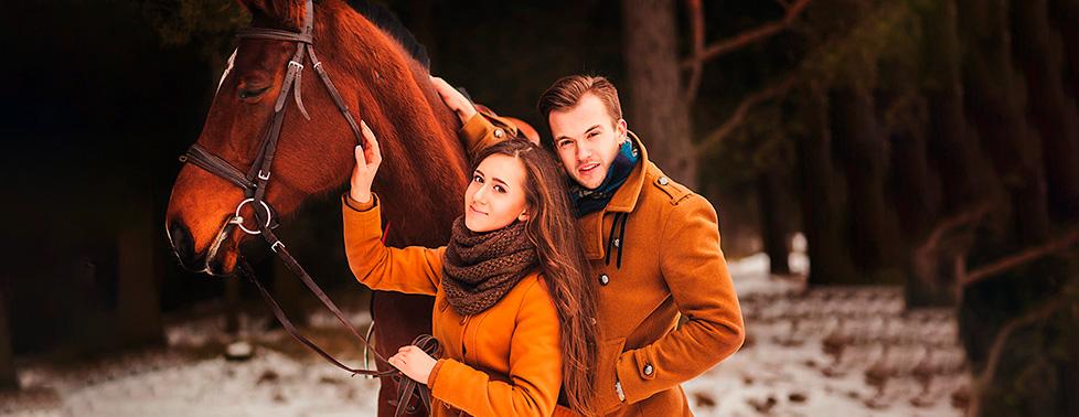 """Конная прогулка, урок верховой езды от конного клуба """"Сказка для Вас"""""""
