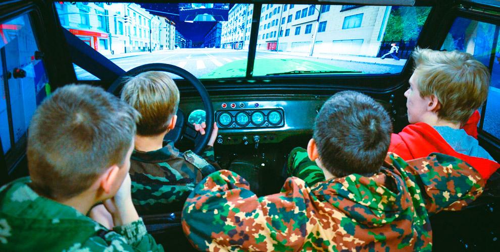 Билеты длядетей ивзрослых вцентр развлечений «Тактика-Милитари»