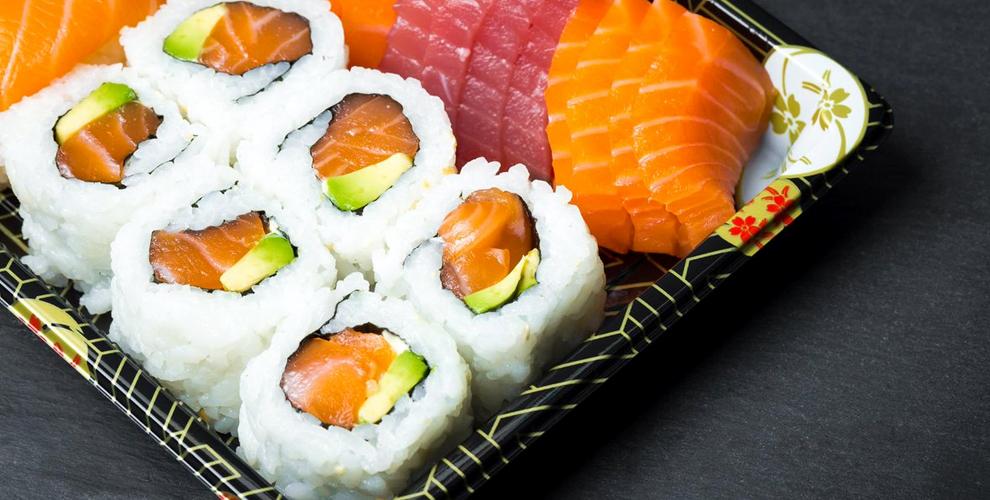 Суши-сеты, роллы, гунканы и многое другое от службы доставки 054 Rolla