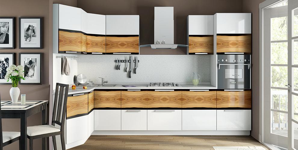 Кухонный гарнитур от мастерской мебели «Ладодея»