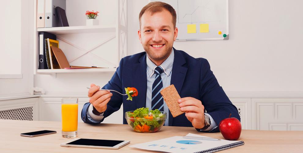 Меню деловых обедов откомпании «Шагздоровья»
