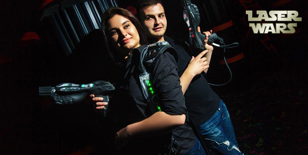 Игра в лазертаг для компании от клуба Laser Wars