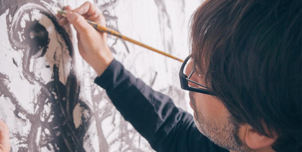 Изготовление портрета на плотном холсте от художника Александра Нагибина