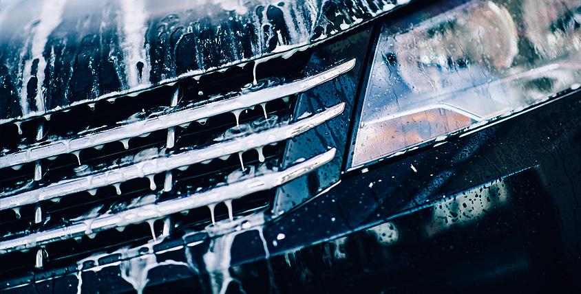 """Комплексная мойка автомобиля и химчистка салона в автомойке """"Автобаня"""""""