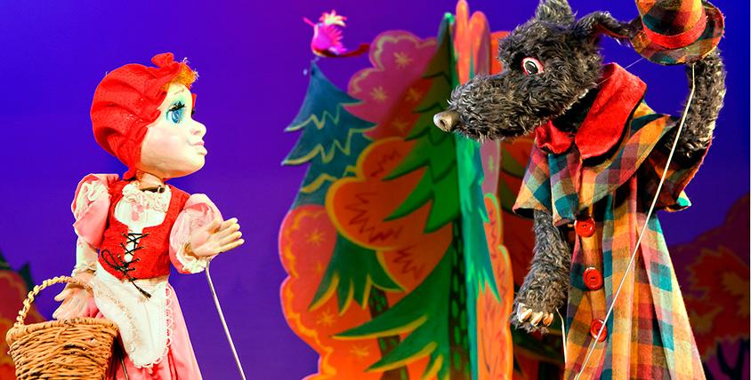"Билеты на весь репертуар спектаклей за полцены в театре кукол ""Жар-птица"""