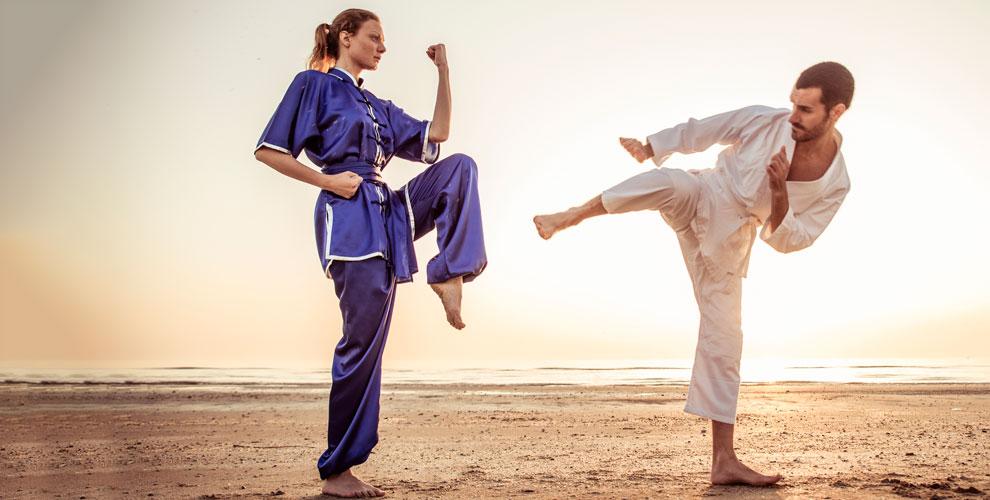Занятия капоэйрой в школе ABADA-Capoeira