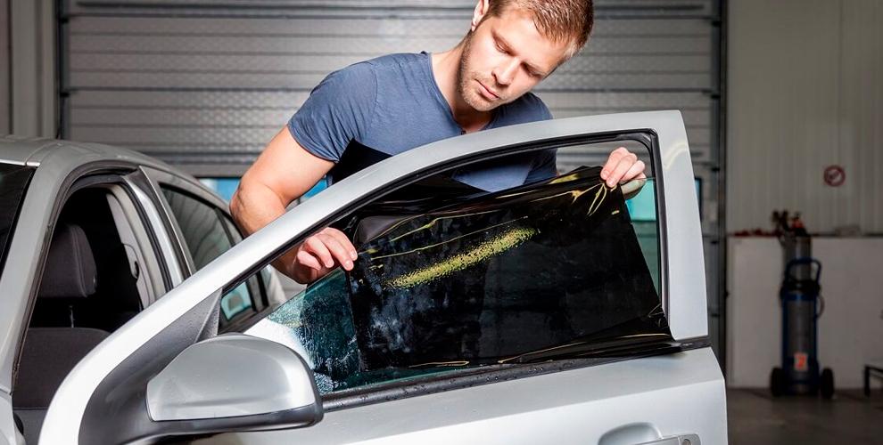 Тонирование заднего и боковых стёкол в тюнинг-ателье Oh, my car