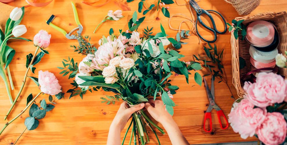 Курсы флористики, мастер-классы вшколе Flora.Style