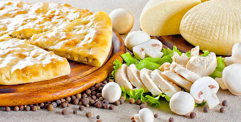 """Пироги из сдобного, слоеного теста и осетинские пироги в кулинарии """"Румяный пекарь"""""""