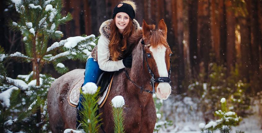 Верховая прогулка в конном клубе Horse Travel