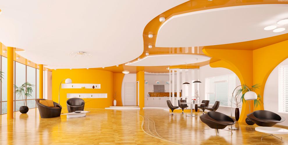 Изготовление и монтаж натяжных потолков от компании «Акцент»