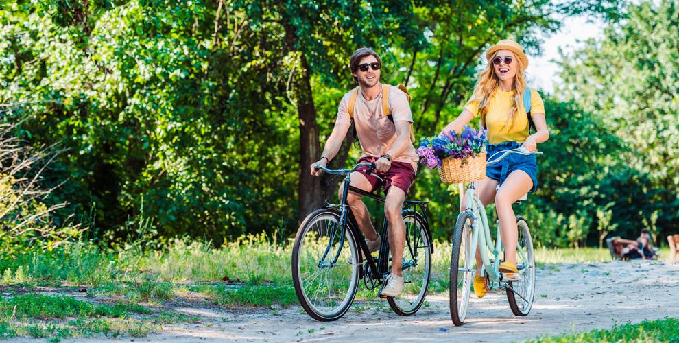 Прокат велосипеда, роликовых коньков исамоката вкомпании ACTIVE SPORT