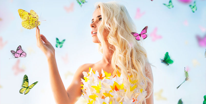 """Билеты в сад бабочек для детей и взрослых от компании """"Счастливые тропики"""""""