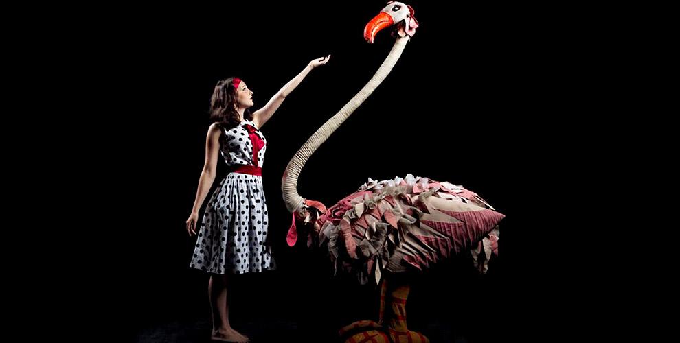 Билеты на спектакль от чешского черного театра Srnec с элементами танца и пантомимы