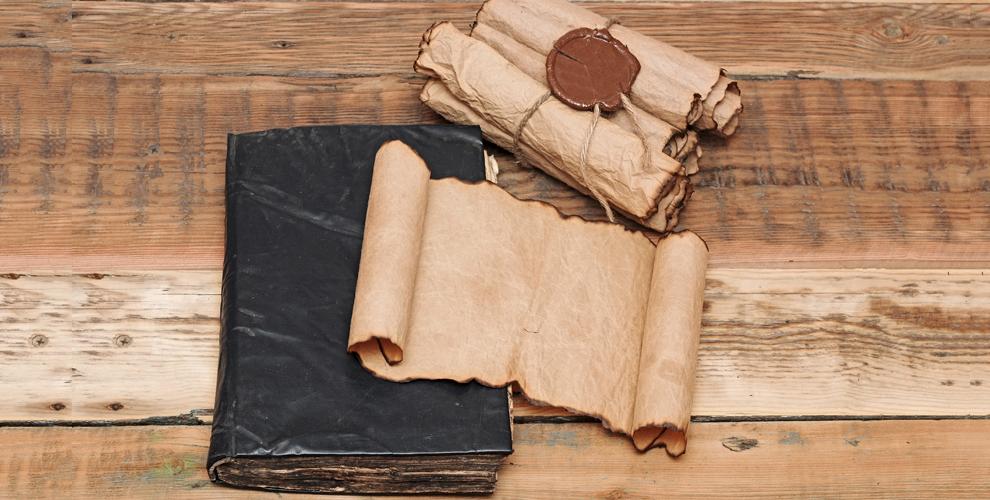 Свитки, письма, состаренная бумага иаксессуары отмастерской «Свитки МСК»