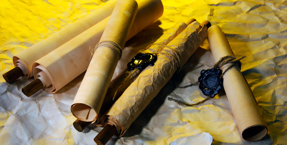 Поздравительные свитки и конверты от мастерской «Свитки МСК»