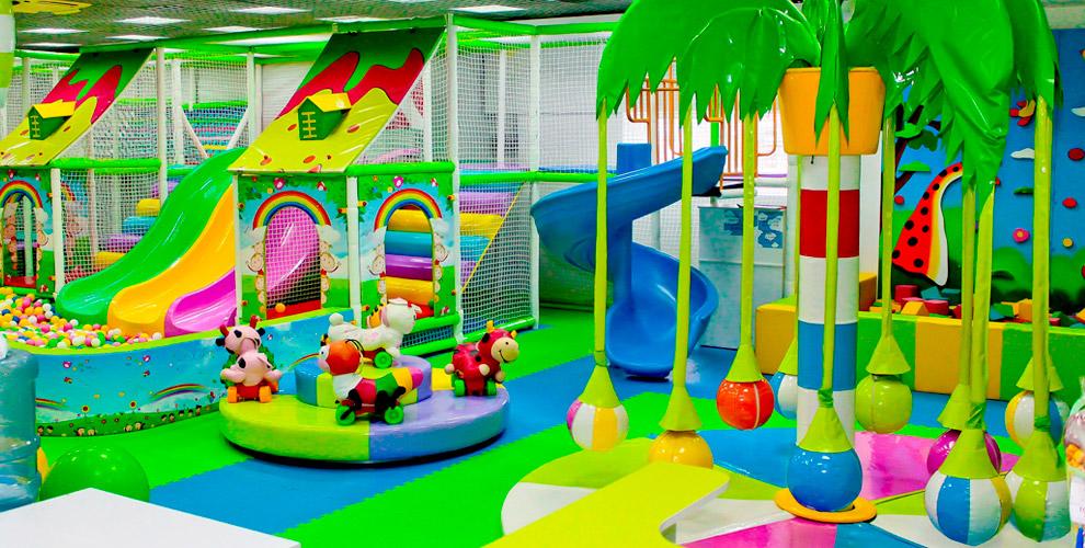 «Кидспарк»: посещение детской площадки, аренда комнаты, развивающие занятия