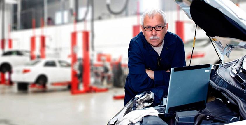 "Замена масла, проверка развал - схождения, а также диагностика ходовой части и двигателя от компании ""НВК-автосервис"""