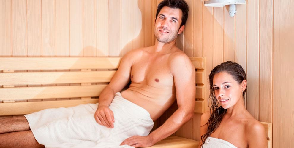 Посещение русской бани ифинской сауны вгостиничном комплексе «Домино»