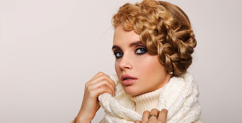 """Прически из кос, голливудские локоны в студии экспресс-причесок и макияжа """"Бурлеск"""""""