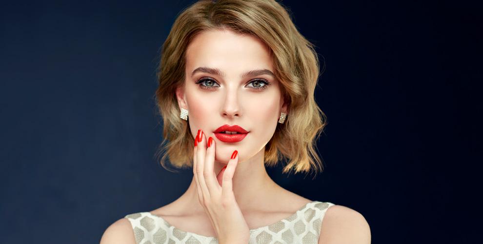 Маникюр, педикюр и ботокс для волос в салоне красоты Beauty Bar Button