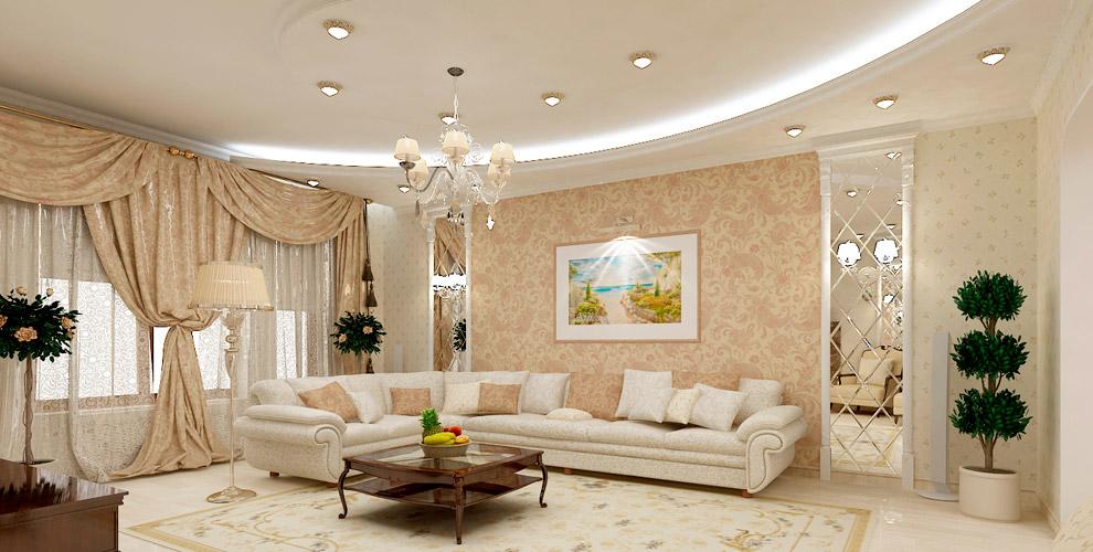 Изготовление и монтаж белых натяжных потолков от компании «Метроплекс»
