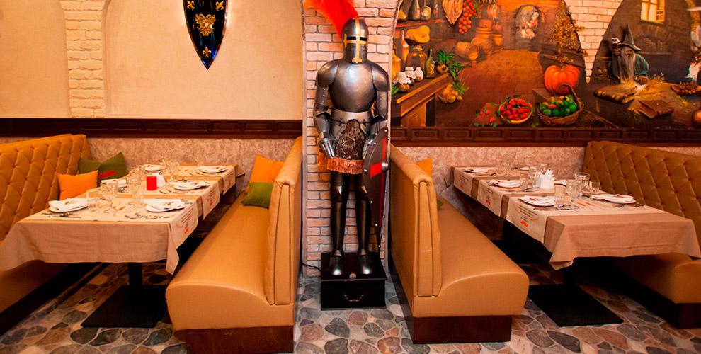Ресторан «Рыжий Альфред»: горячие блюда, салаты, супы и напитки