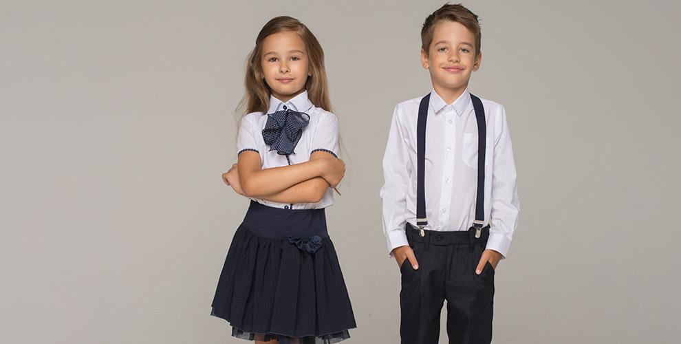Школьная одежда для мальчиков и девочек, изготовление шевронов в ателье «Модная фея»