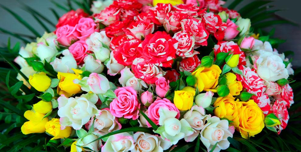 Цветы, букеты икомпозиции всалоне «Фонтан цветов»
