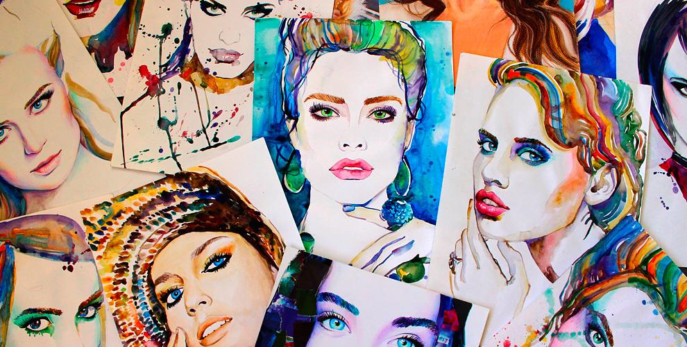 Портреты на выбор от художественной мастерской Anypaintings