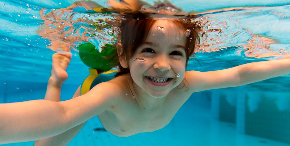 Индивидуальные игрупповые занятия плаванием длядетей вцентре Happy Baby