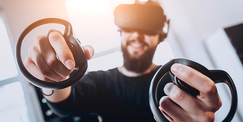 Игры в шлеме в центре виртуальных приключений «LOOK ВОКРУГ»