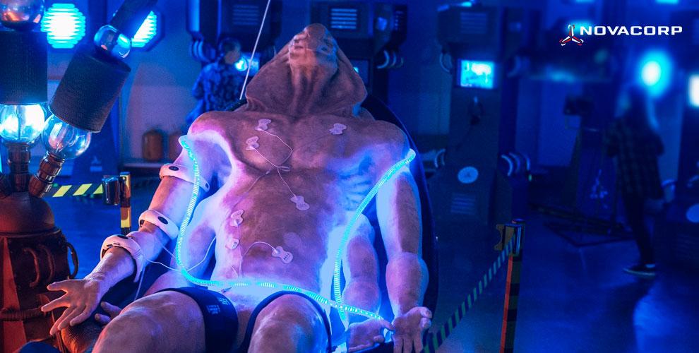 NOVACORP: билеты навыставку инопланетян «Секретный объект U-17»