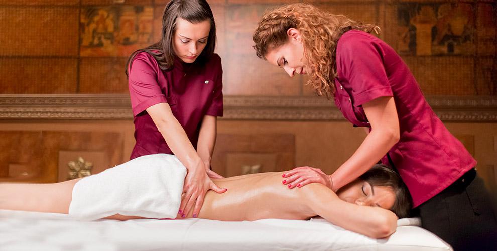 «Студия Леси Толь»: массаж в 4 или 6 рук, «Прикосновение шелка» и другие программы