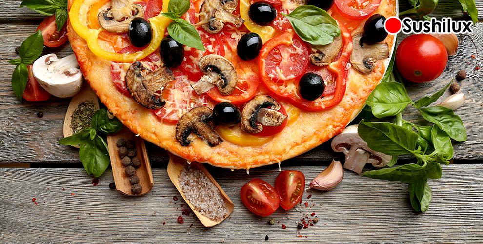 Сытные пироги и бесплатная доставка пиццы от ресторана Sushilux 2.0