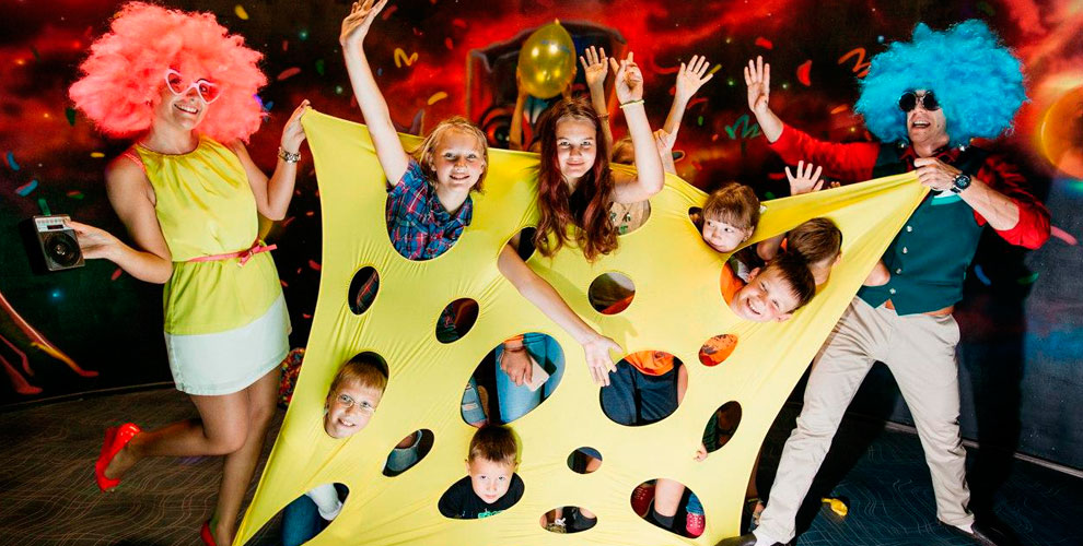 Аниматоры, детские праздники, пузыри-гиганты, шоу химиков от студии «Тутти-Фрутти»