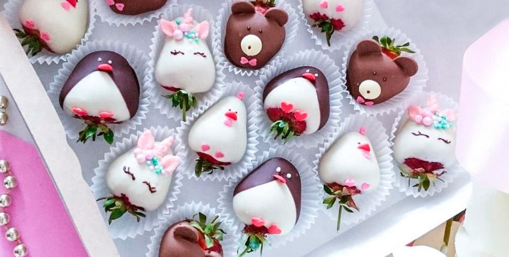 Candy Berry: клубника вшоколаде вкоробке