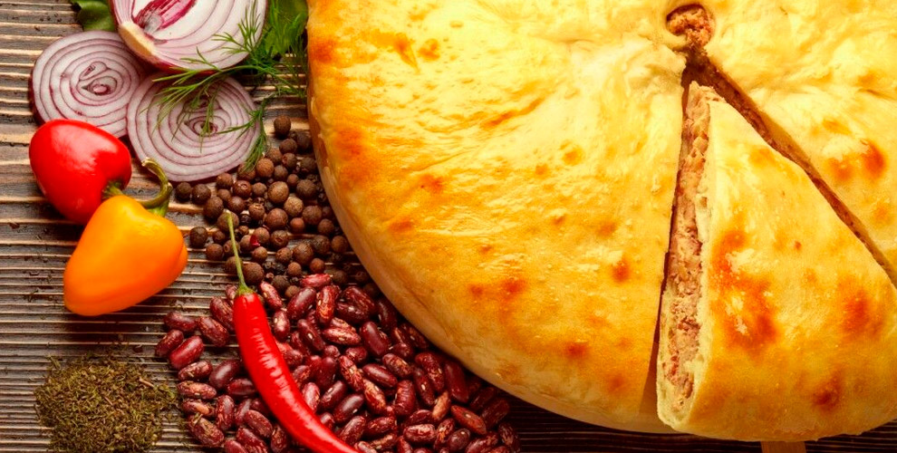 Осетинские пироги с различными начинками и пицца от службы доставки Pirogoff.su