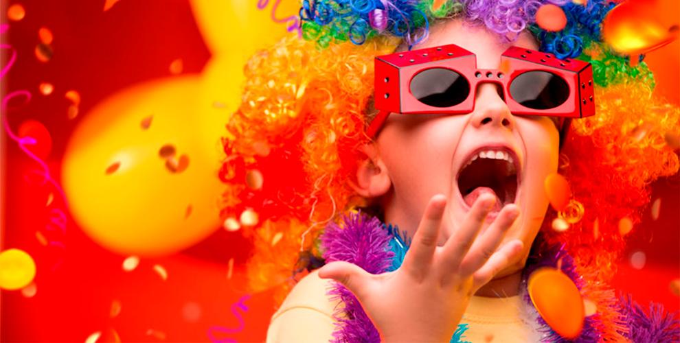 «Яркий День рождения», научное шоу, аренда детской комнаты от агентства Arcobaleno